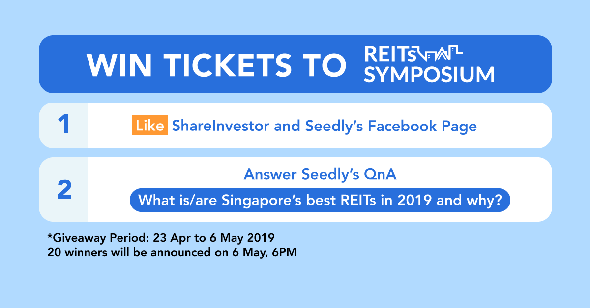 Seedly REITS Symposium Giveaway - Seedly
